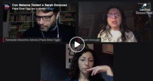 Con Melania Tanteri e Sarah Donzuso