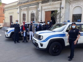San Gregorio, nuovo look per la polizia locale