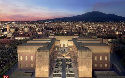 Museo dell'Etna, presentato il progetto: sorgerà dentro l'ex Vittorio Emanuele II