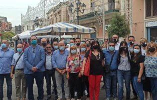 """Inaugurato il """"Mercato del sabato"""" nel centro urbano di Gravina"""