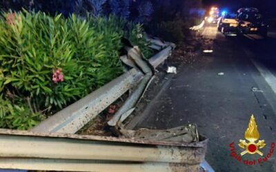 Tragico incidente sull'autostrada Messina – Catania: morto un minore