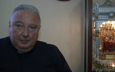 Belpasso, il saluto alla comunità etnea di Monsignor Giovanni Lanzafame