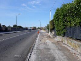 San Gregorio, lo stato dei lavori per mettere in sicurezza i pedoni