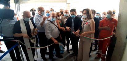 """Inaugurato il nuovo punto vaccinale """"Ciclope Bronte"""""""