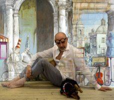 """""""Passaggi"""", l'opera di Benedetto Poma completa le installazioni all'Ottagono di Mascalucia"""