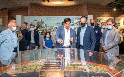 Museo dello Sbarco, il plastico delle battaglia del Ponte di Primosole
