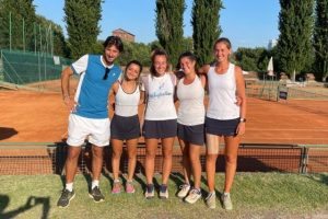 Tennis femminile, il Cus Catania in A2. Prima squadra etnea promossa in serie A