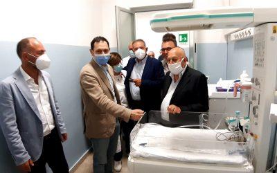 Inaugurato il punto nascita dell'ospedale di Bronte